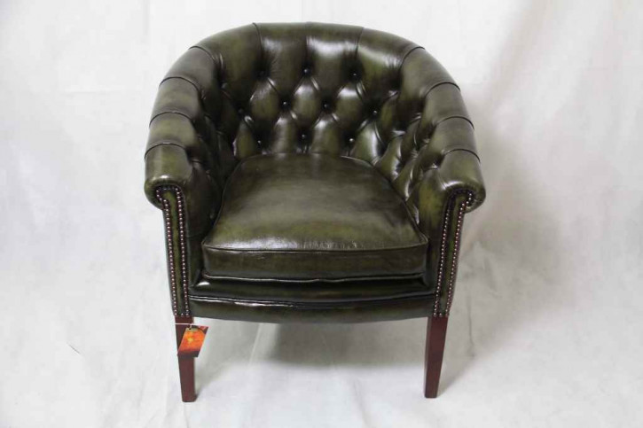 Chesterfield Sessel - Victorian club chair