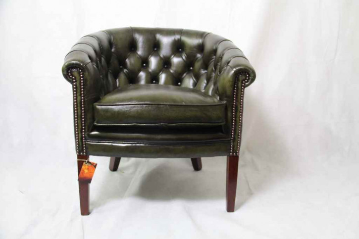 """Victorian Club Chair"" Chesterfield Sessel"