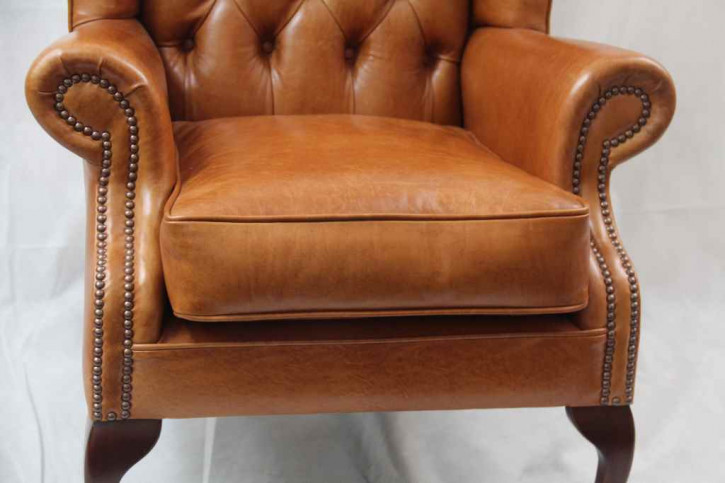 """""""Windsor Wing Chair"""" Chesterfield Sessel"""