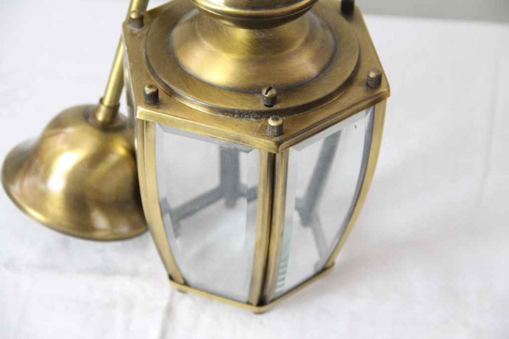 Laterne Messing France  flurlampe