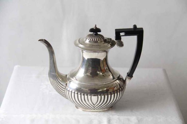 Coffeepot Plated england Kafekanne  versilbert