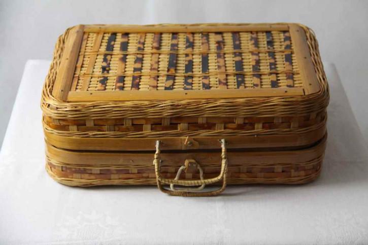 Koffer Korb antik France