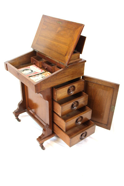 Davenport Schreibtisch Victorian Original massivholz