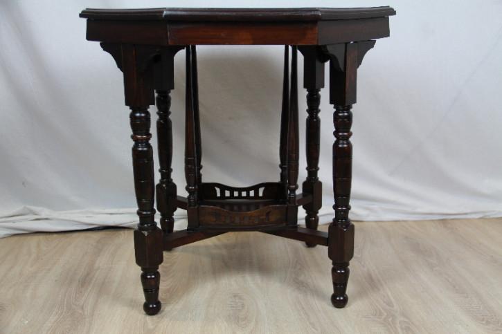 Mahagoni Teatable Esstisch Massivholz 1860  Original