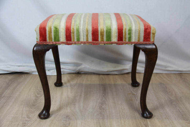 Piano chair Hocker stool aus Mahagoni Original
