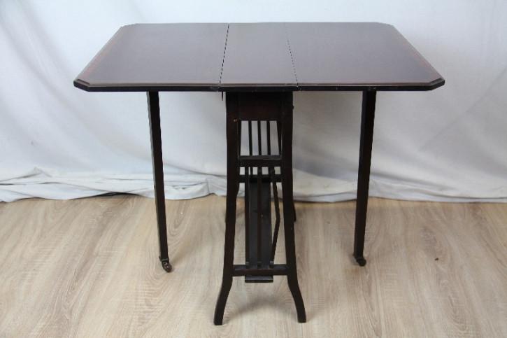 Original englischer Sutherland table aus Mahagoni aus dem Jahr 1890