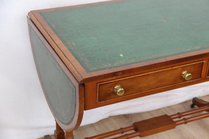 Schreibtisch  Eibe Ladies desk grünes Leder