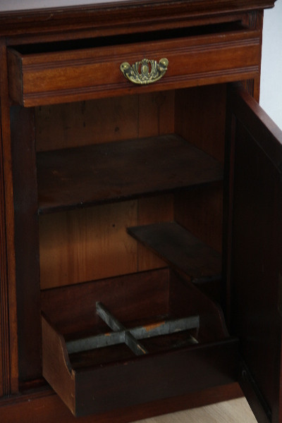 Sideboard Edwardian England 1890 Mahagoni