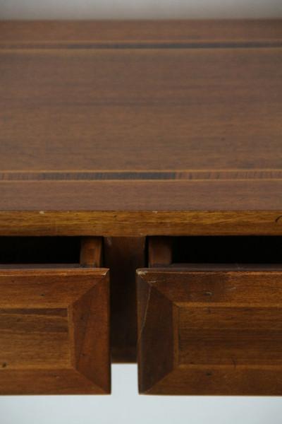 Halltable Sidetable Mahagoni Massivholz mit Intarsien