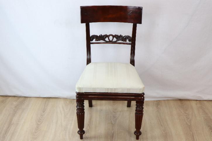 Victorian pair single chair Paar Stühle 1860 England