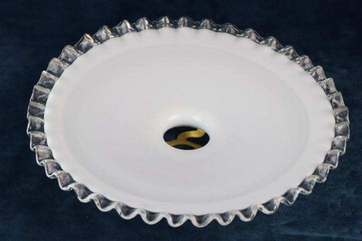 Lampenschirm Glas durchsichtiger Rand