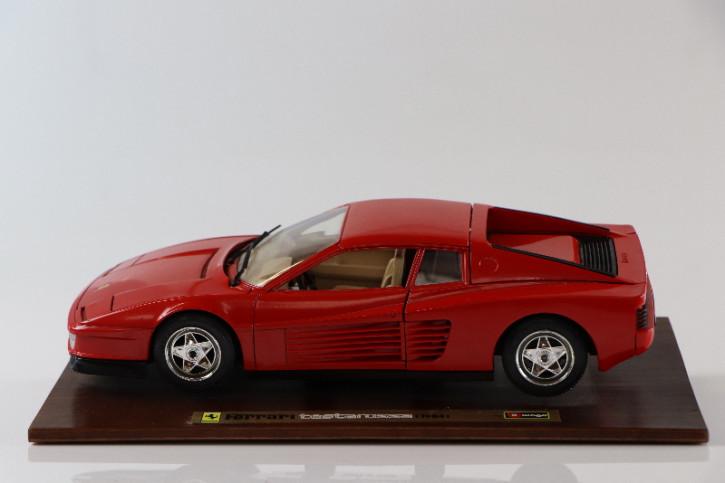 Ferrari Testarossa Modellauto 1984