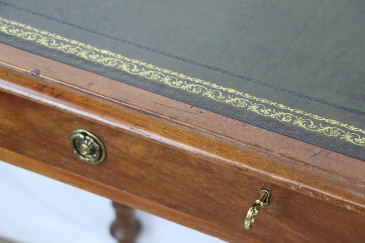 SchreibtischLadies desk Victoriab Lederplatte