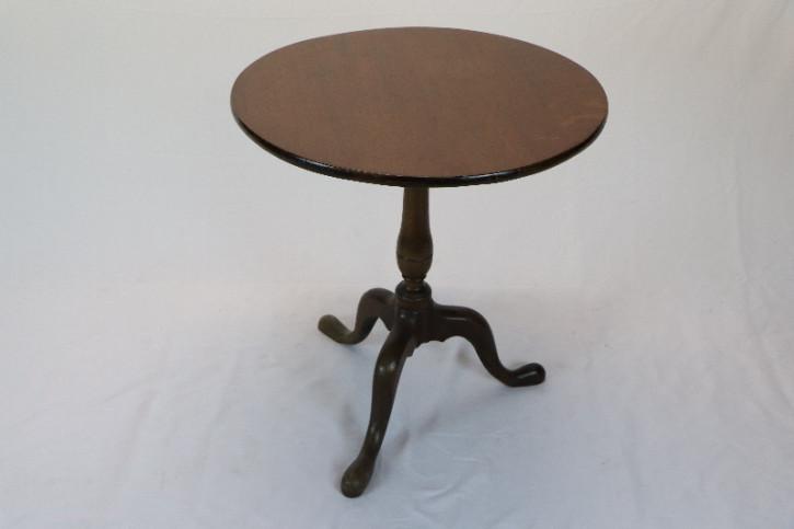 Tripot table England runder Beistelltisch Antik Massivholz