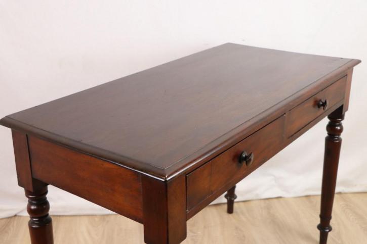 Schöner Library Table / Writing Table / Schreibtisch mit Schubladen