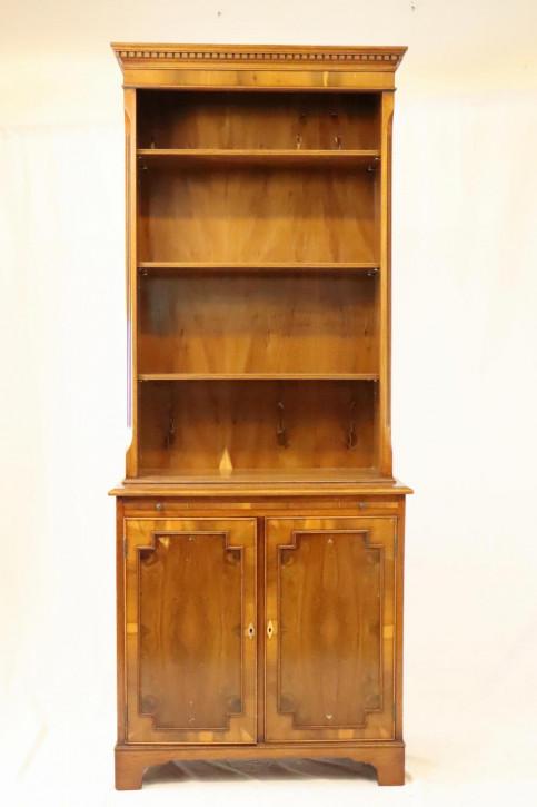 Antikes Bücherregal mit Sekretär  Eibe