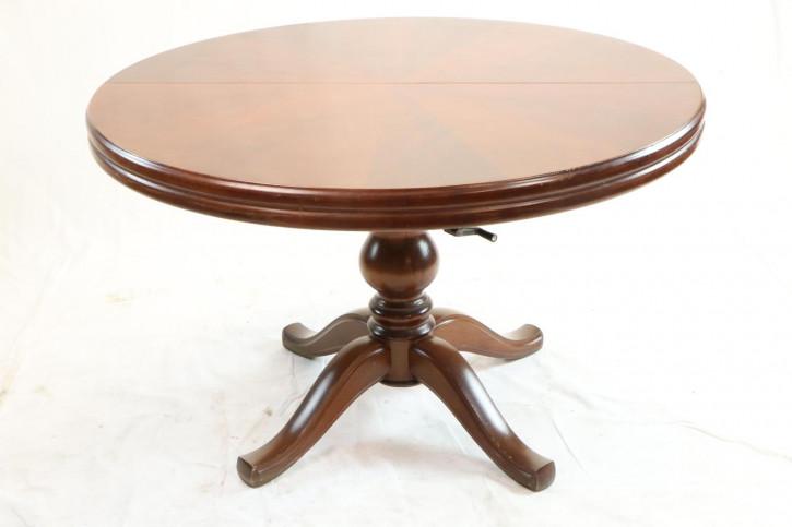 Antiker ausziehbarer Esstisch aus Massivholz