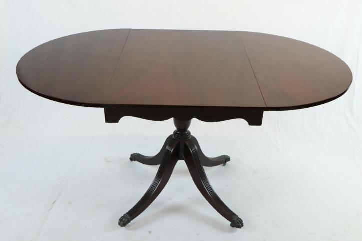 Pembroke Table / Esstisch, ausklappbar, mit paw feet