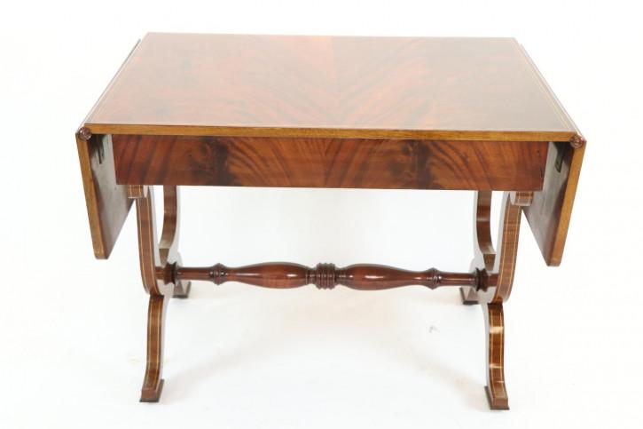 Schöner Pembroke Sofatable  Table / klappbarer Esstisch mit feinen Intarsien
