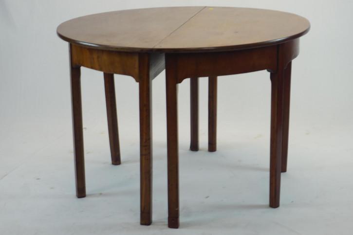 Runder Esstisch / Dining Table, ursprünglich vergrößerbar