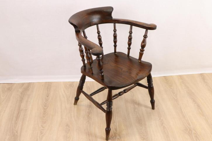 Schöner rustikaler Landhaus Stuhl - Captains Chair