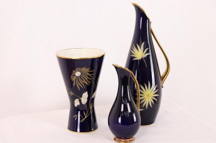 Schönes dreiteiliges Vasen Set aus Keramik