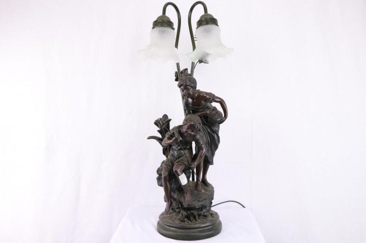 Außergewöhnliche Vintage Lampe im Jugendstil