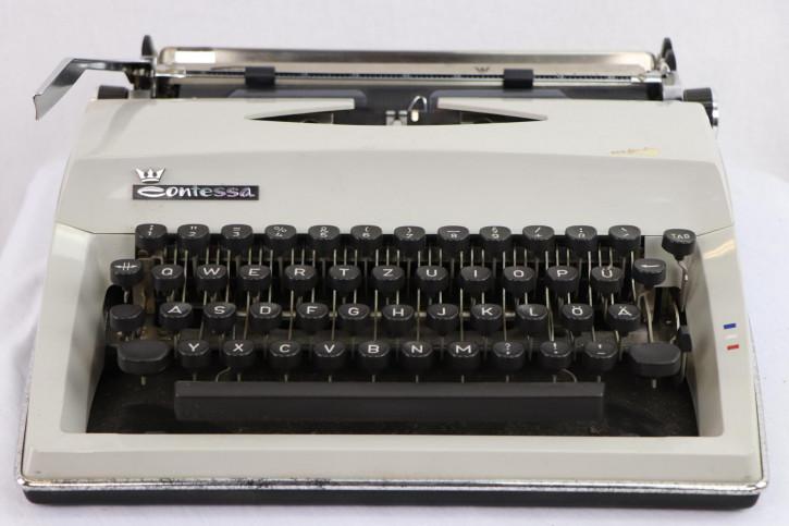 Mechanische Vintage Schreibmaschine von Contessa