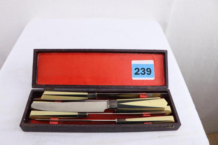 Ausgefallenes Vintage Messer Set, 6teilig