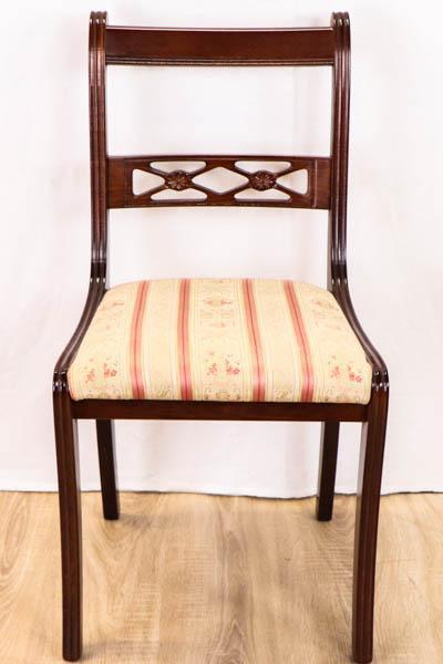 Beeindruckender Mahagoni Stuhl im Regency Style
