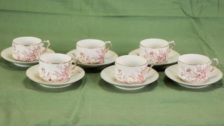 Elegantes Teetassen Service aus England