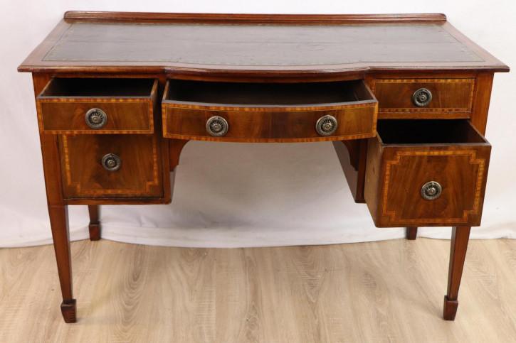 Schöner Ladies Desk / Damen Schreibtisch mit Ledereinlage