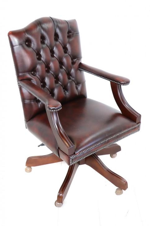Chesterfield Drehstuhl Gainsborough Swievel Plain Seat