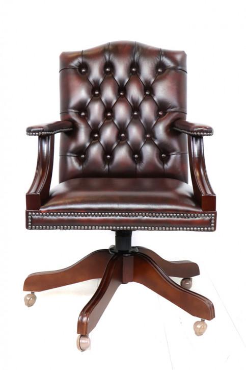 "Chesterfield Bürostuhl ""Gainsborough"", Plain Seat, Sofort Lieferbar"