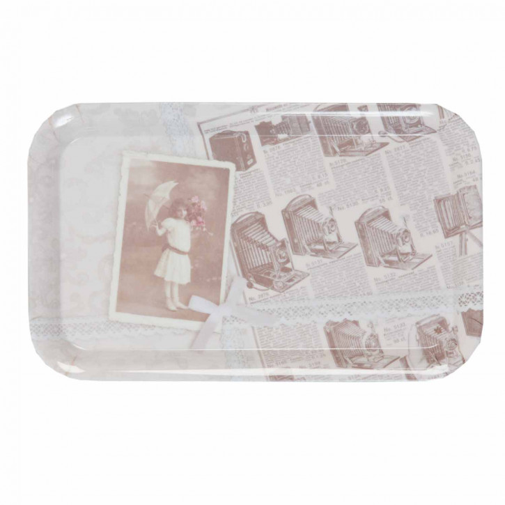 Tablett klein mit Foto-Motiv