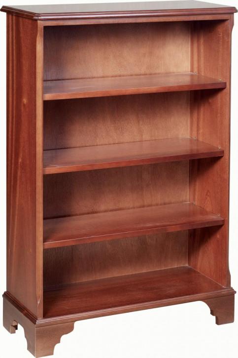 Großer, offener Bücherschrank mit drei Regalböden
