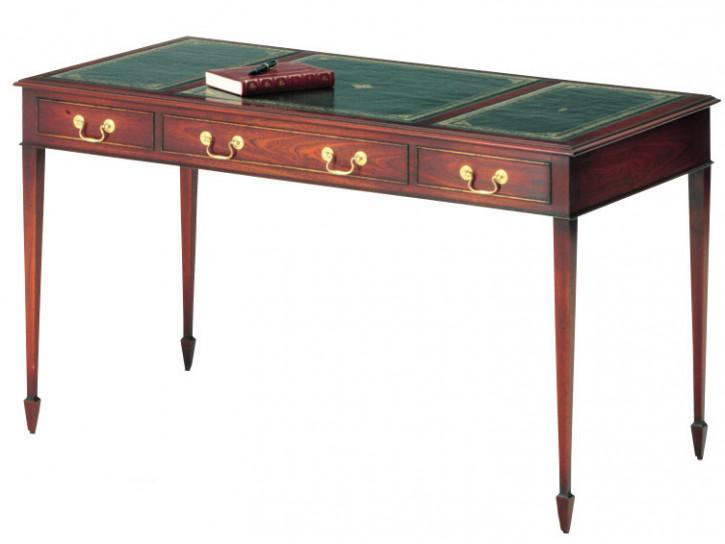 Eleganter Schreibtisch in Mahagoni - ebenfalls in Eibe erhältlich