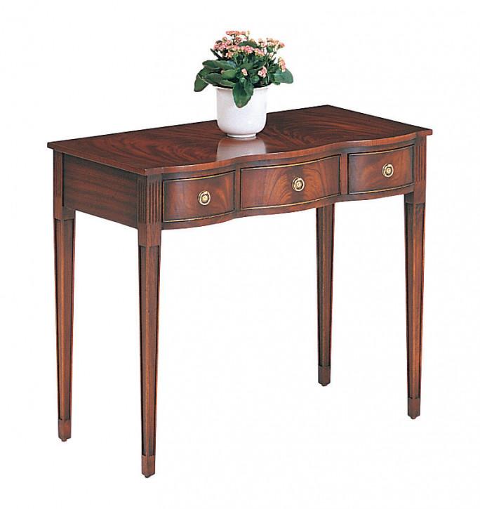 Bevan Funnell Schreibtisch Beistelltisch in Mahagoni