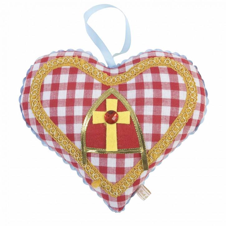 Dekoration hart 21x20 cm
