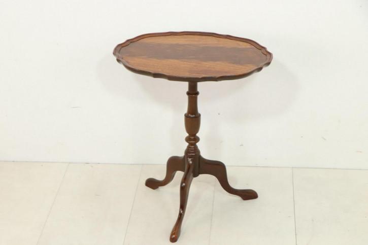 Antiker Wine Table, Mahagoni, ca. 1920
