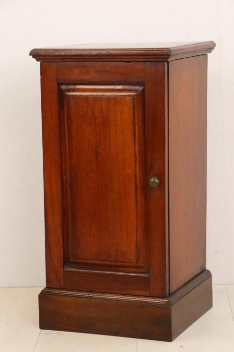 Antikes Bedside Cabinet aus England, Mahagoni, ca. 1860