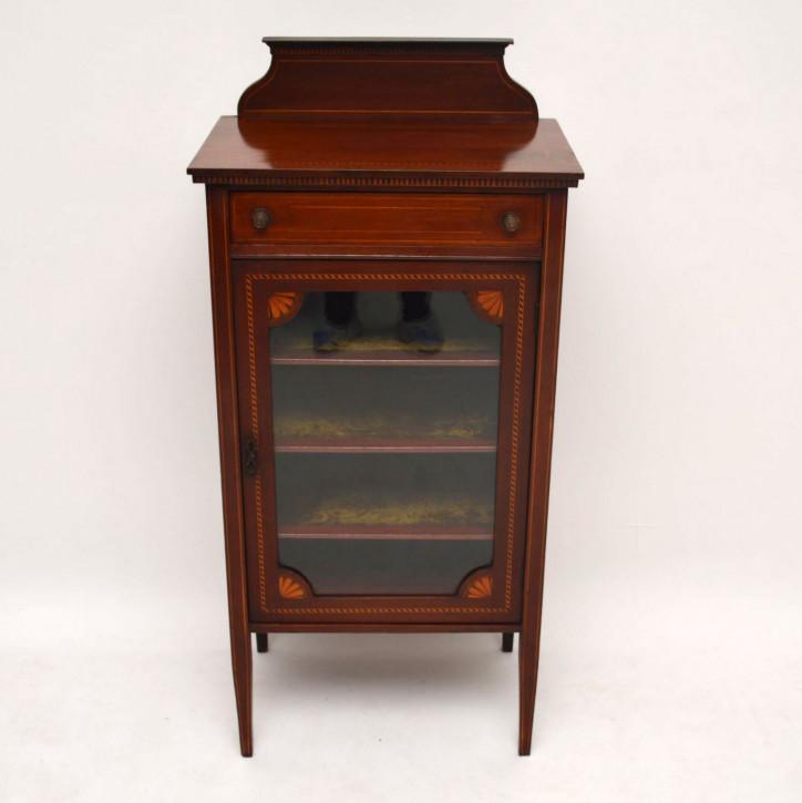 Antikes Edwardian Mahagoni Kabinett Sideboard kleiner Tisch