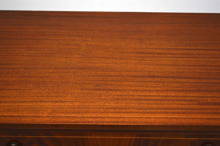 Antikes Inlaid Mahogany Sideboard