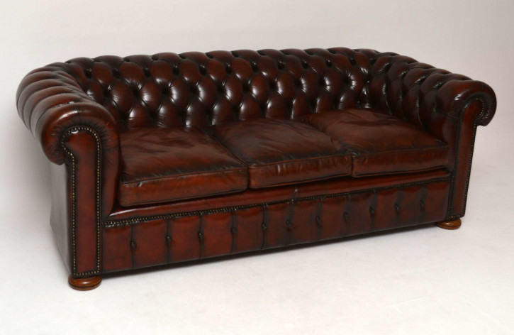 Chesterfield couch  Chesterfield Möbel - Bequeme Nostalgie | www.morris-antikshop-de