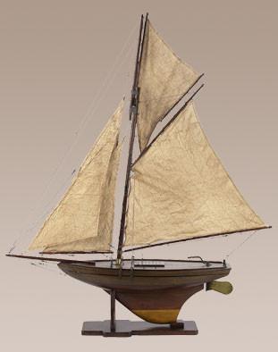Schiff - Victorian Pond Yacht