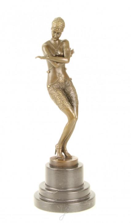 Bronzefigur Coy Dancer 37,6x13x13cm