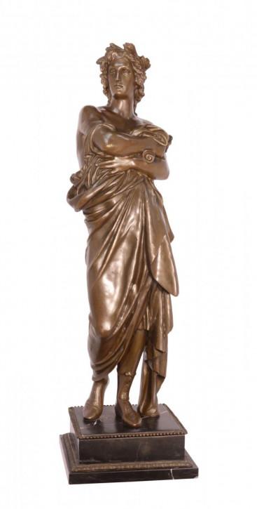 A Bronze Sulpture Of Augustus 77x24x24cm