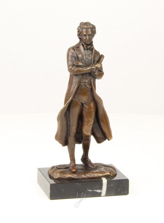 Bronzefigur Writer 21,2x10,2x8,1cm