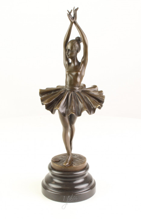 Bronzefigur Ballerina 33x10,6x12cm