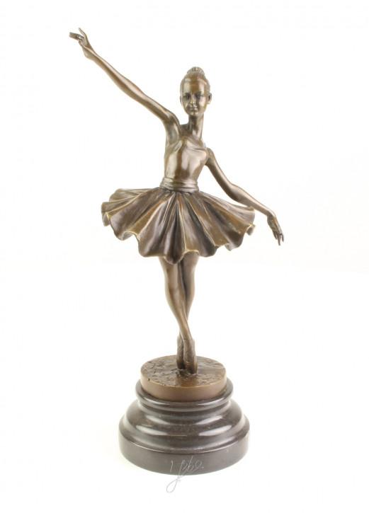 Bronzefigur Ballerina 31,7x10,4x13,6cm